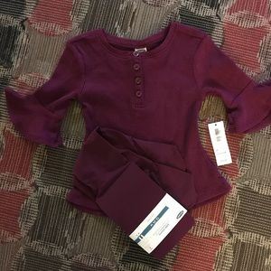 Old Navy top and tights